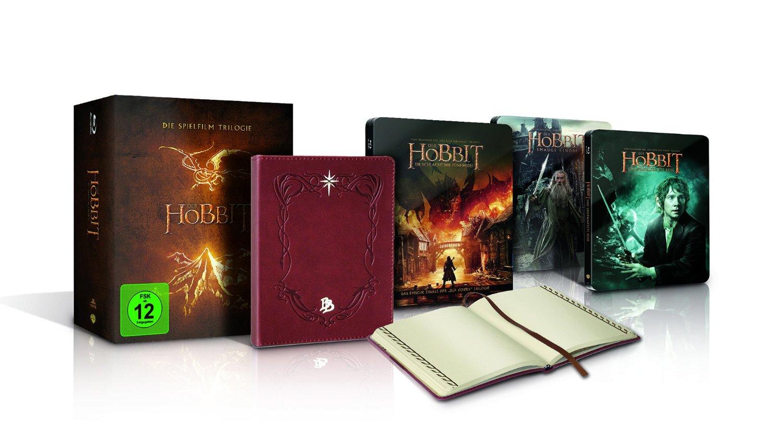 Hobbit Trilogie Steelbooks