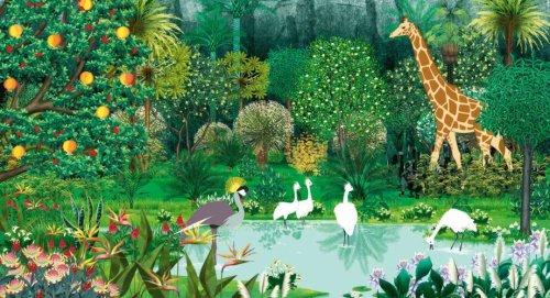 Kiriku und die wilden Tiere - Landschaft