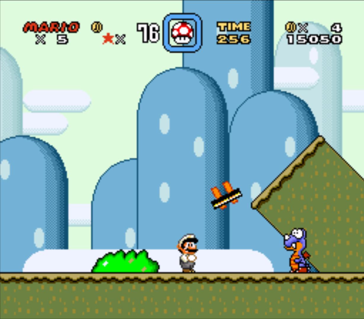 Super Mario im Hammerbros. Suit