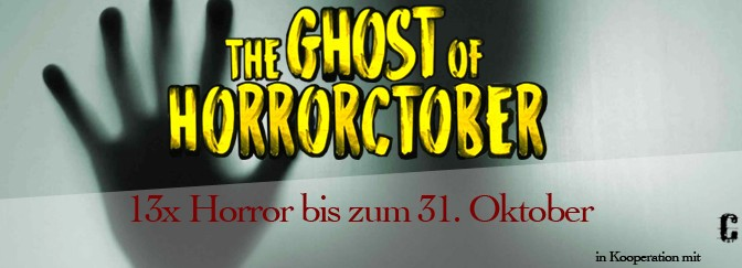 #Horrorctober 2016 The Ghost of #Horrorctober