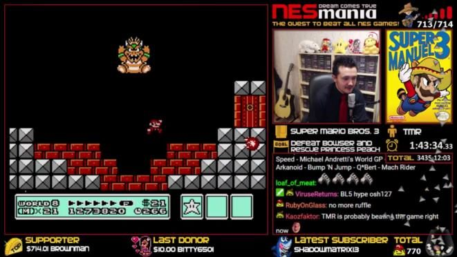 NESMania – Your Quest is over! TheMexicanRunner spielt alle 714 NES Spiele durch
